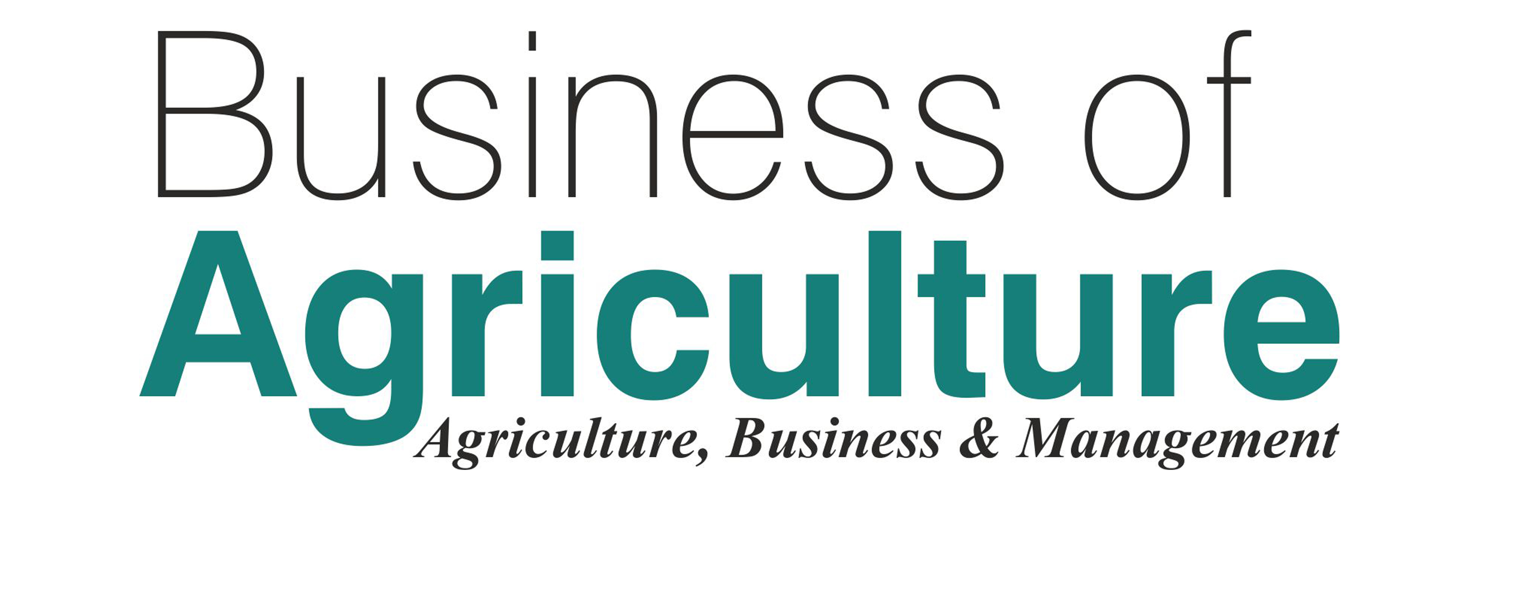businessofagriculture